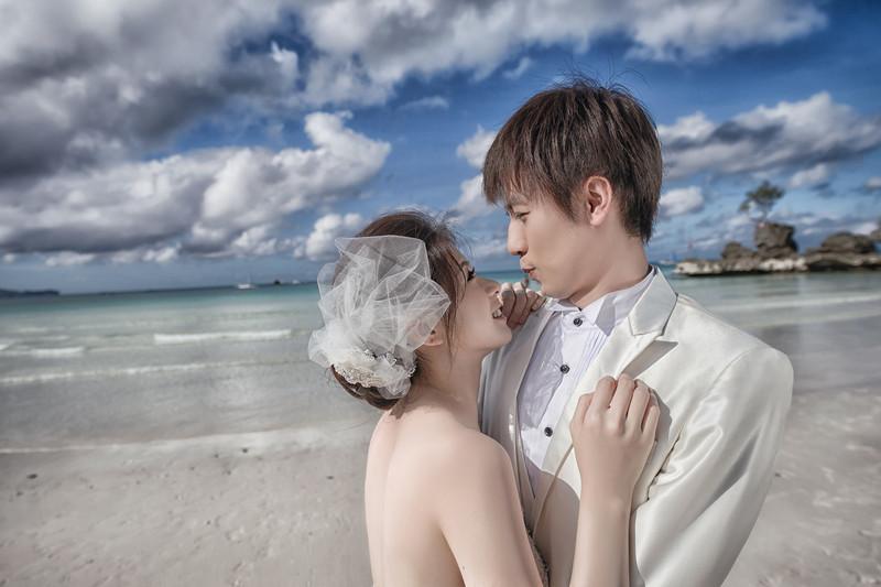 海外婚紗, 婚攝, 婚攝東法, Oversea Pre-Wedding, 長灘島, Boracay, 夕陽婚紗, 沙灘