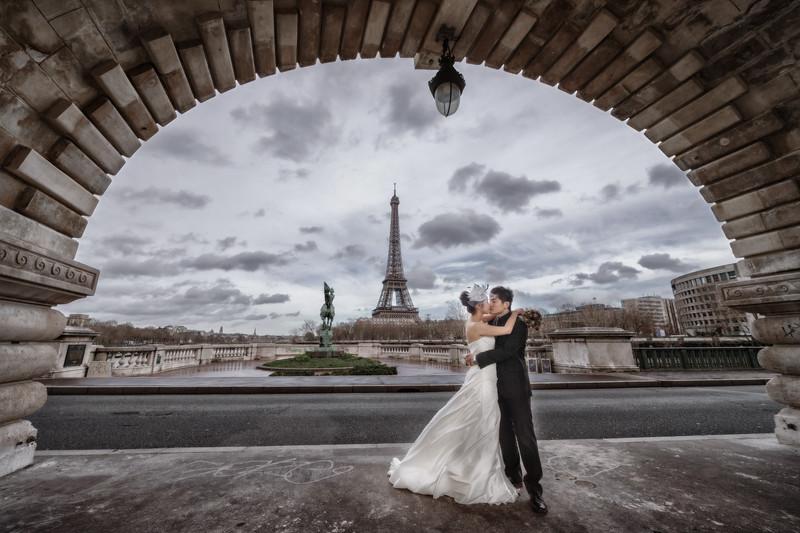 海外婚紗, 婚攝東法, Donfer, 自主婚紗, 自助婚紗, Fine Art, 巴黎, 巴黎鐵塔