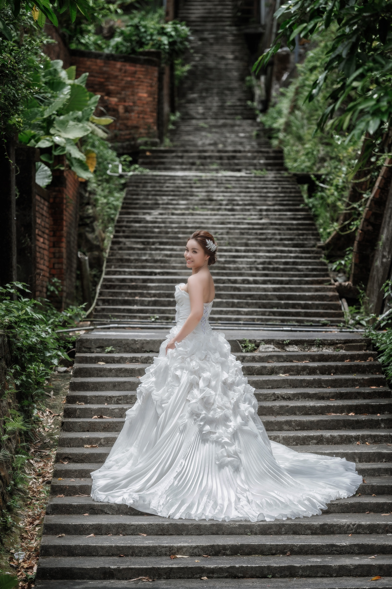 自助婚紗, 自主婚紗, 婚攝, Pre-Wedding, 煙管道, 金瓜石老街, Fine Art, 大雨婚紗
