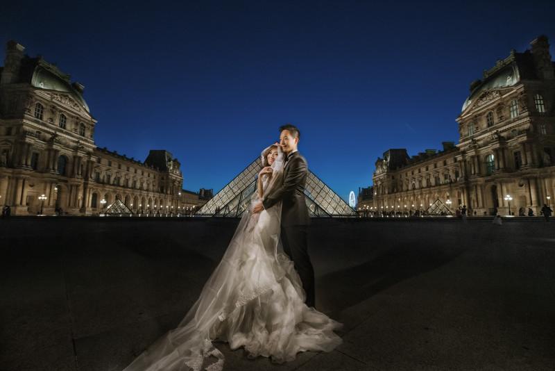 海外婚紗, 自助婚紗, 巴黎婚紗, 婚攝東法, Fine Art, Oversea PreWedding, 巴黎鐵塔, 歌劇院