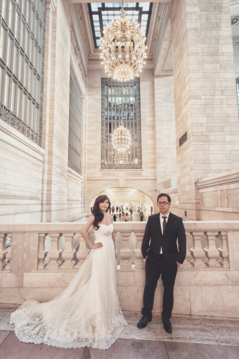 海外婚紗, 自助婚紗, Oversea Pre-Wedding, New York, 紐約婚紗, Fine Art, 婚攝東法, Donfer