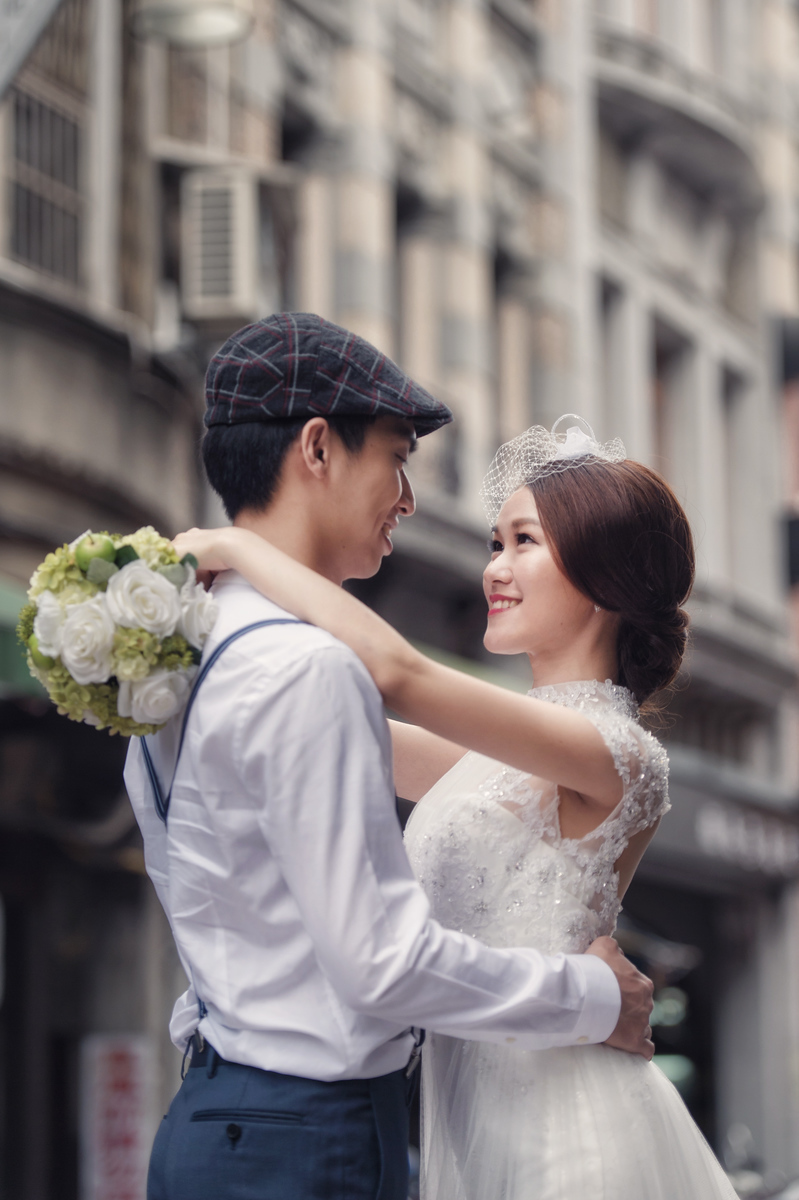 保安宮婚紗, 自助婚紗, 藝術婚紗, 自主婚紗, 婚攝東法, Donfer, 廟宇婚紗, 大稻埕婚紗