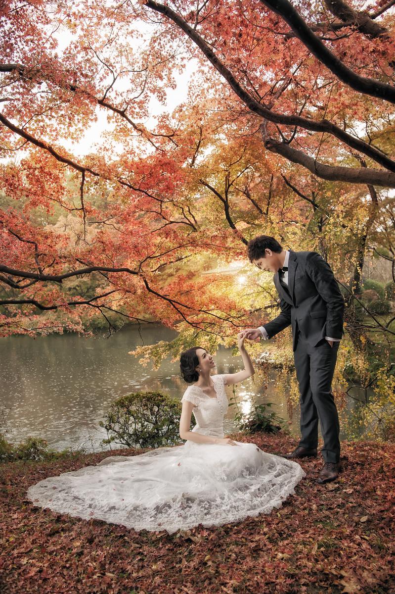 京都婚紗, 京都楓葉, 海外婚紗, Oversea Pre-Wedding, Donfer, 婚攝東法, Fine Art, 藝術婚紗, Donfer Photography